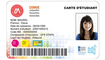 carte etudiant universite