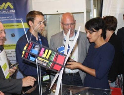 Les nanosatellites étudiants à l'honneur au Bourget