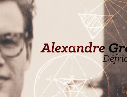 Alexandre Grothendieck, défricheur d'inconnu