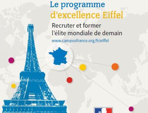 Programme de bourses d'excellence Eiffel pour l'année 2020/2021