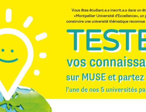 CONNECT, le grand jeu concours Montpellier Université d'Excellence (MUSE)