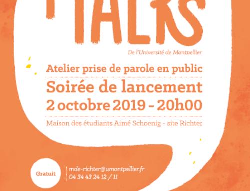 Soirée de lancement iTALKS – Ateliers de prise de parole en public