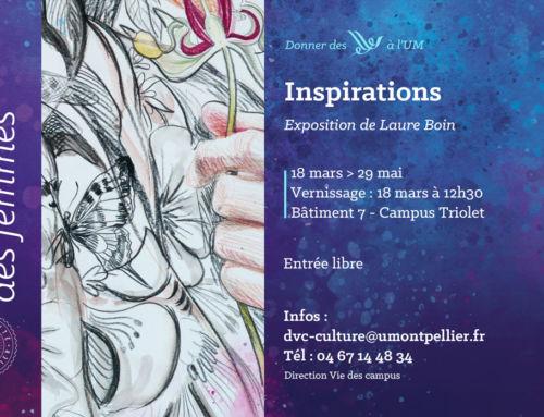 Exposition «Inspirations» – Le mois des femmes à l'UM
