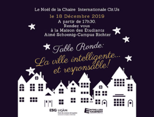 Table ronde « La ville intelligente … et responsable ! »