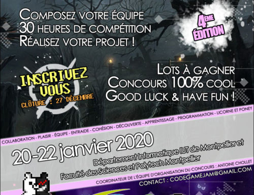 Concours Code Game Jam